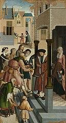 De zeven werken van barmhartigheid. 2: Het laven van de dorstigen.