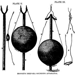 John Mercer Brooke - Brooke's deep-sea sounding and core-sampling device