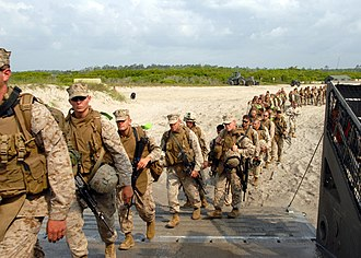 Marine Corps Base Camp Lejeune - Marines stationed at Camp Lejeune, 2008