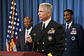Defense.gov News Photo 101012-D-9880W-074 - Commander of Navy Recruiting Command Rear Adm. Craig S. Faller talks about the successful fiscal year 2010 recruiting efforts of Navy recruiters.jpg