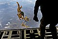 Defense.gov News Photo 120210-F-NO755-917 - Airmen perform a high-altitude low-opening jump during a joint operational access exercise at Pope Field N.C. on Feb. 10 2012. The airmen are.jpg