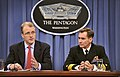 Defense.gov News Photo 120612-D-NI589-057 - Acting Assistant Secretary of Defense George E. Little and Deputy Assistant Secretary of Defense for Media Operations Capt. John Kirby brief the.jpg