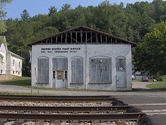 Del Rio, Tennessee - The old post office in Del Rio