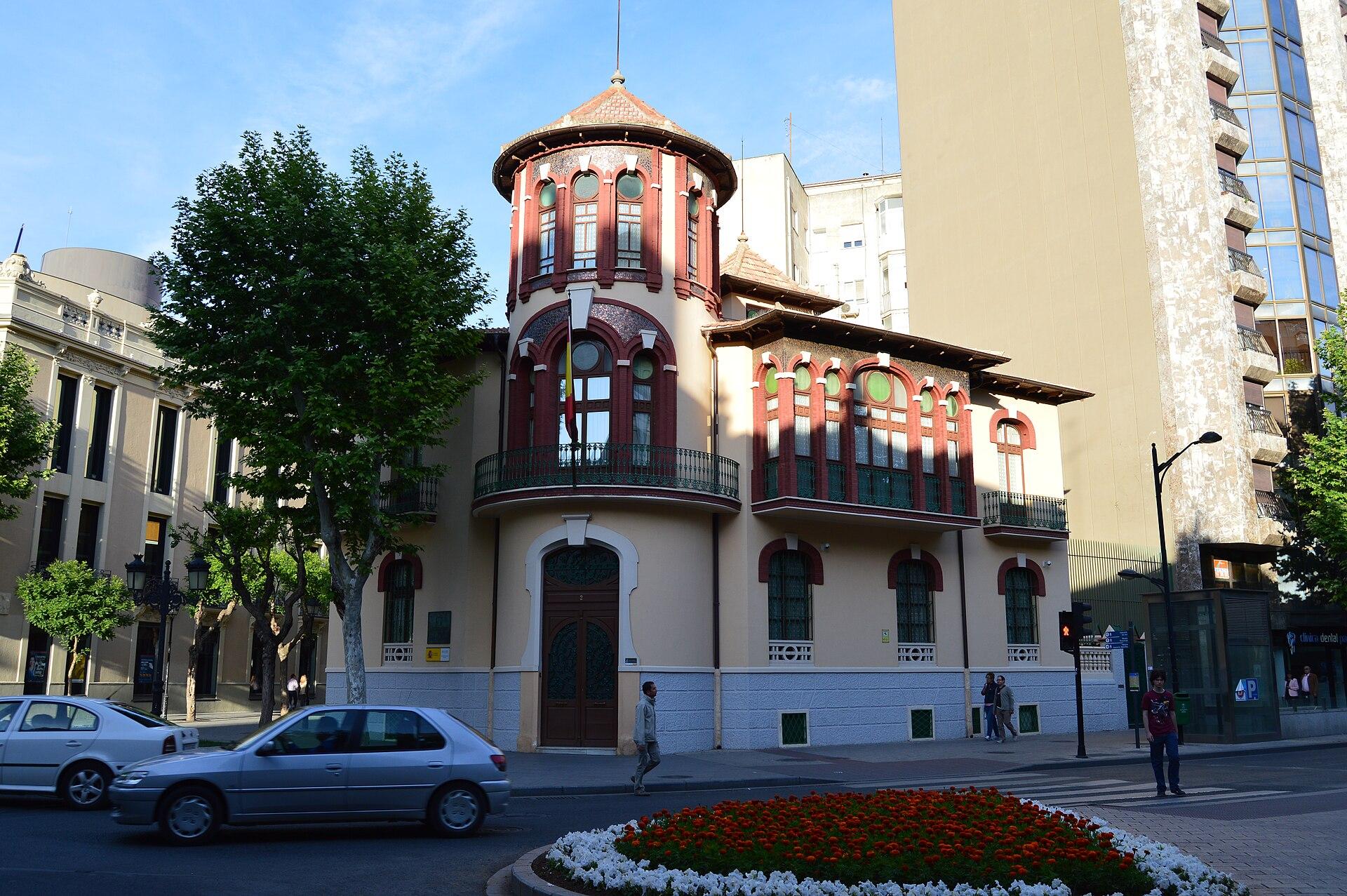 Edificio de la subdelegaci n de defensa albacete wikipedia la enciclopedia libre - Casas de citas en albacete ...