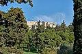 Deme of Kollytos and the Acropolis from Apostolou Pavlou Pedestrian Street on March 10, 2020.jpg