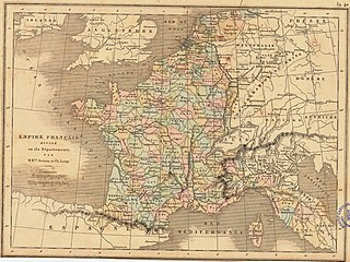 130 departments of the First French Empire Wikimedia list article