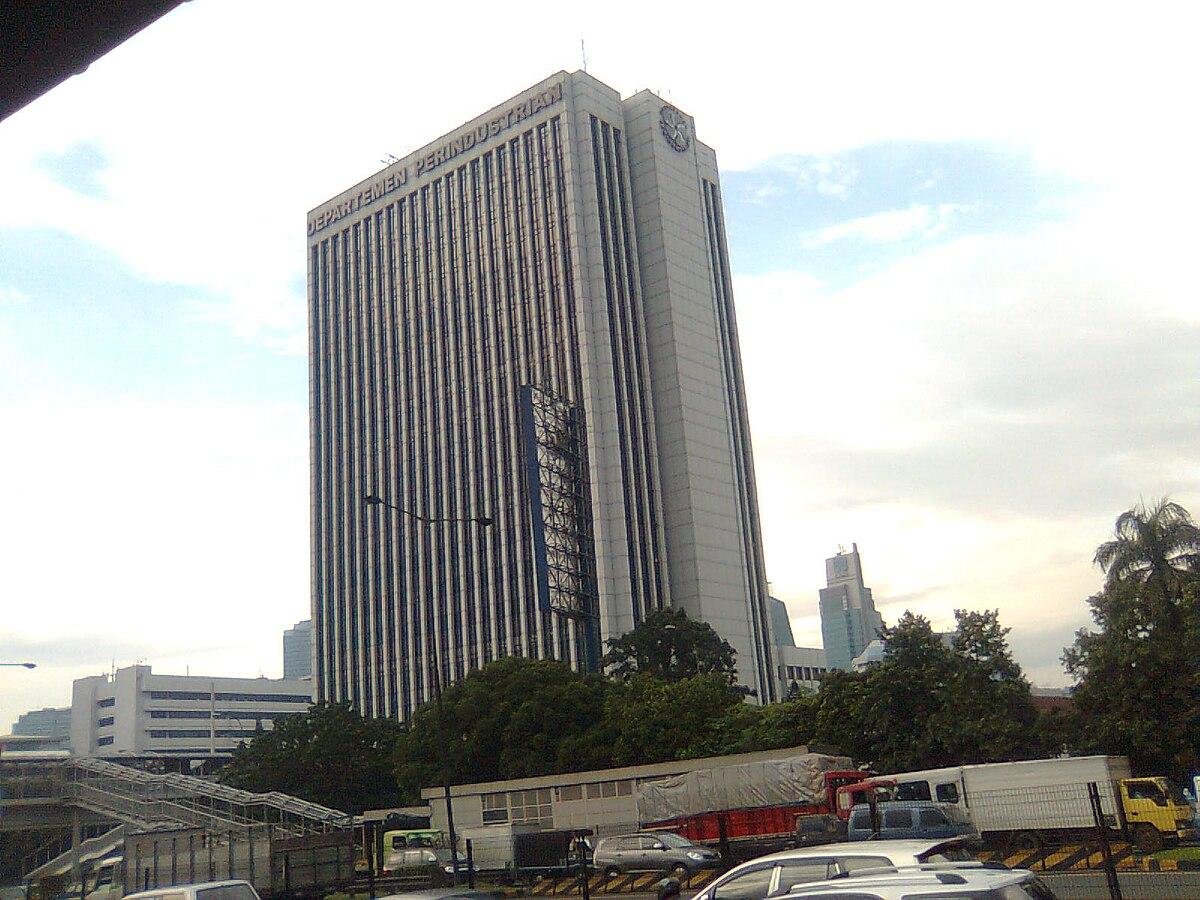 Gedung Kementerian Perindustrian Republik Indonesia - Wikipedia bahasa  Indonesia, ensiklopedia bebas
