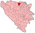 Derventa Municipality Location.png