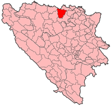 Derventa Municipality Location.png