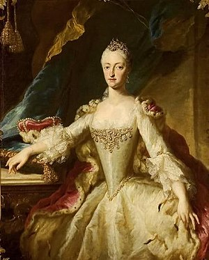 Duchess Maria Anna Josepha of Bavaria - Image: Desmarées Maria Anna of Bavaria, Rastatt