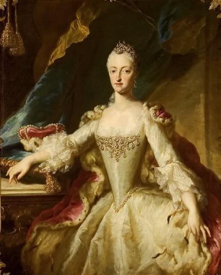Desmarées - Maria Anna of Bavaria, Rastatt