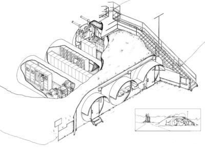 Detail of Instrumentation and Control Tanks c 1959 HAER AL-129-A sheet 6 of 7