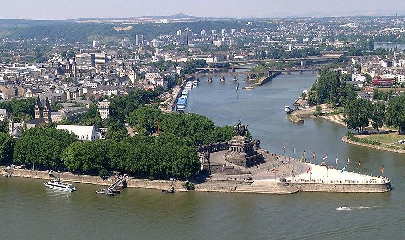 Deutsches Eck (Bildquelle. Wikipedia.org)