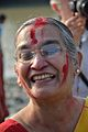 Devotee - Durga Idol Immersion Ceremony - Baja Kadamtala Ghat - Kolkata 2012-10-24 1584.JPG