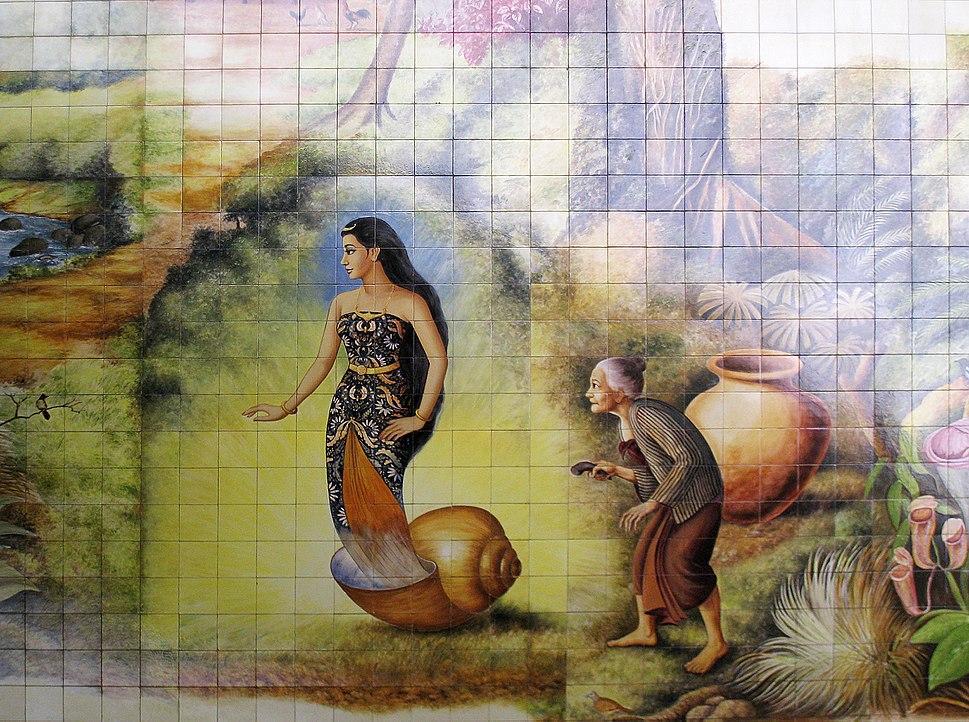 Dewi Sekartaji Keong Emas
