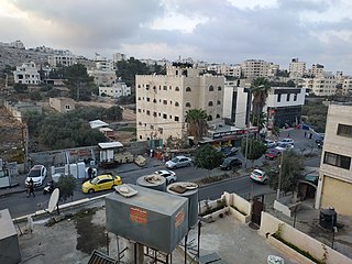 Dheisheh Refugee Camp in Bethlehem, State of Palestine