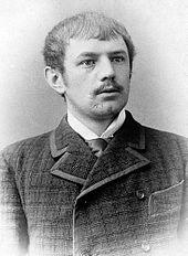 Dietrich Eckart auf einem Foto aus den 1890er Jahren. Bild: wikimedia.org/PD