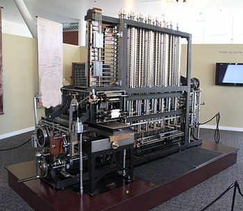 Babbage Difference Engine No. 2 built at the Science Museum, London, on display at the Computer History Museum in Mountain View, California.