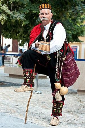 Croatian national costume - Men's Dinaric style costume.