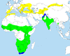Distribution of Booted Eagle (Hieraetus pennatus).png
