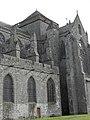 Dol-de-Bretagne (35) Cathédrale Flanc nord du chœur.JPG