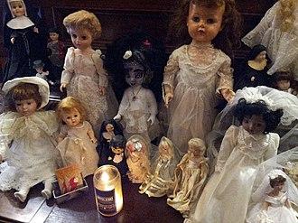 Doll Asylum - Doll display, 2015