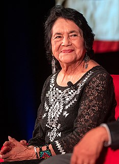 Dolores Huerta American labor leader