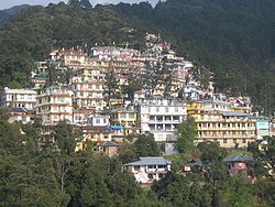 View of McLeod Ganj town