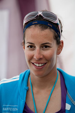 Dominique Gisin - Swiss Ski 2011 summertraining.jpg