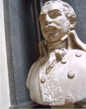 Dominique Martin Dupuy - Bust of General Dupuy by Roland, Galerie des Batailles (Palace of Versailles)