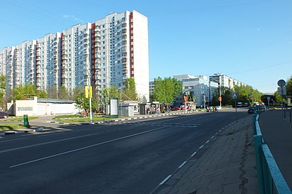 How to get to Домодедовская Улица with public transit - About the place