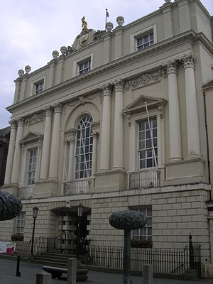 Mansion House, Doncaster - Façade of the Mansion House