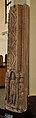 Door Jamb Showing River Ganga - Mediaeval Period - Mahaban - ACCN 73-26 - Government Museum - Mathura 2013-02-23 5160.JPG
