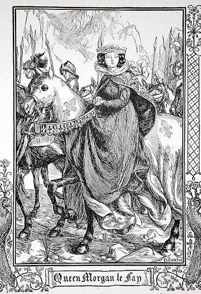 File:Dora Curtis - Queen Morgan le Fay, 1905.jpg