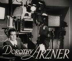 Dorothy Arzner in The Bride Wore Red trailer.jpg