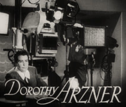 Dorothy Arzner in The Bride Wore Red trailer
