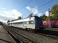 Double-decker train at Østerport Station.jpg