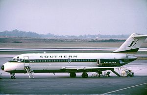 Southern Airways - Douglas DC-9-15 of Southern Airways at Atlanta, Georgia, in October 1973