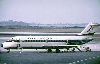 Southern Airways - Douglas DC-9-15 at Atlanta in October 1973