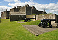 Dover Castle inner bailey and Bell Battery.jpg