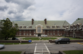 Briarcliff College - Dow Hall within Pace University, 2015