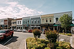 Historic downtown Rogers