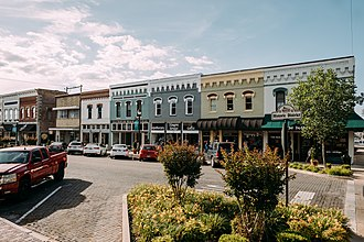 Northwest Arkansas - Historic downtown Rogers