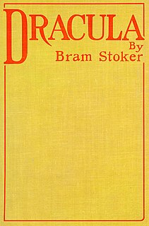<i>Dracula</i> 1897 novel by Bram Stoker