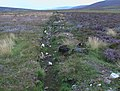 Drainage course on moor north-west of Carn Dulack - geograph.org.uk - 1435354.jpg