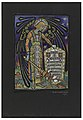 Drawing, Design for Stained Glass Memorial Window to Thomas J. Post, 1919 (CH 18458637).jpg