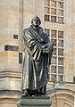 Dresden Martin Luther statue in front of Frauenkirche 02.JPG