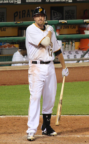 Drew Sutton - Sutton during his tenure with the Pittsburgh Pirates in 2012