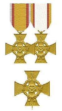 Drie kruisen voor Oorlogsverdienste Lippe 1914.jpg