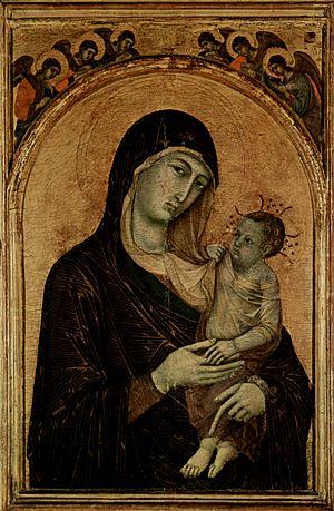 1300s in art - Image: Duccio di Buoninsegna 008